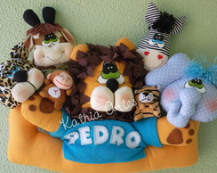 Enfeite Maternidade Safari