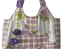 Bolsa cotton patchwork lil�s