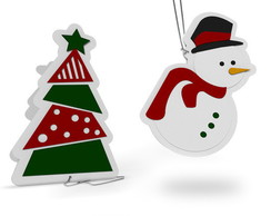 Tags para presentes de Natal