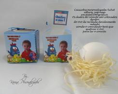 Convite Caixinha Galinha Pintadinha