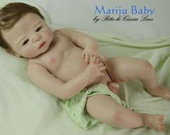 Boneco Reborn Th�o - beb� em silicone