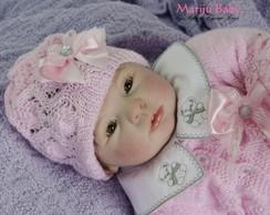 Boneca Reborn Elaine -