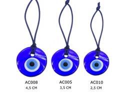 AC008 - Amuleto OLHO TURCO - Medalh�o