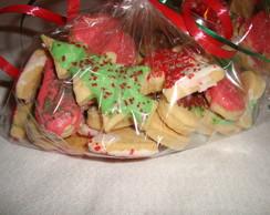 Bolachas amanteigadas de Natal
