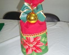 cobre panetone de flor