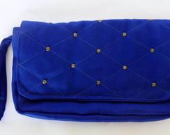 Bolsa de M�o - verde fl�or e azul bic