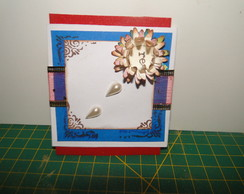 mini cart�es em scrapbook