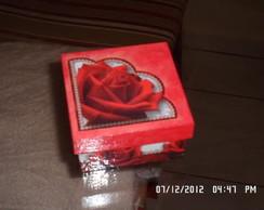 Caixa com rosa Ref. Dc10