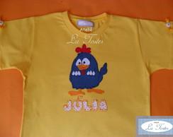 Camisa Galinha Pintadinha (modelo 4)