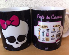 Bolo de Caneca Monster High