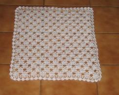 Toalha de croch� cod 105