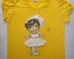 Camisa feminina M�os de Anjo