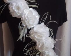 Al�a de Flores de tecido para Festas