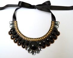 MAXI COLAR BLACK DIAMOND