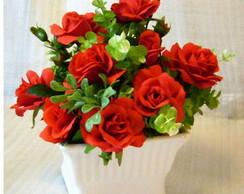 Arranjo rosas vermelhas