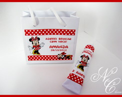 Kit lembran�a Minnie vermelha