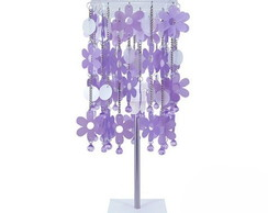 Lumin�ria Glam Lilas