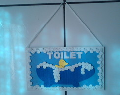 Placa Toilet