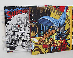 Caderno Quadrado - Super Her�is