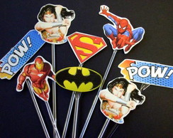 Toppers Scrapbook - Super Her�is