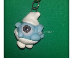 "Chaveiro "" Smurf Big Eyes"""