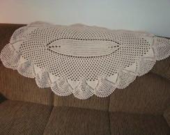 Tapete ou manta de sof� de barbante Dudu