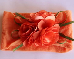 Faixa de meia bouquet de flores