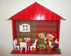 Guirlanda De Natal - Casinha de Natal