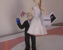 Noivo topo de bolo
