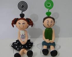 Boneca (o) Smile Sentada (o) c/ Espiral