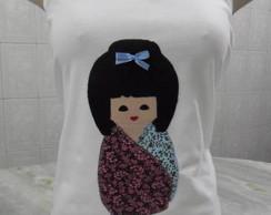 """Camiseta kokeshi"""