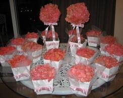 Kit rosinha de hort�ncia para festas III