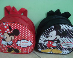 Mochilinha Minnie e Mickey 2