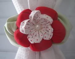 Abra�adeira Florzinha Vermelha