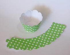 25 Wrappers Para Cupcake Petit Po�