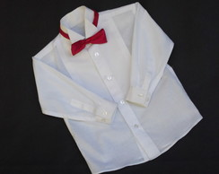 Camisa Branca Manga Longa a Rigor Beb�