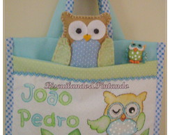 Caderno Do Beb� - Kit Coruja 4
