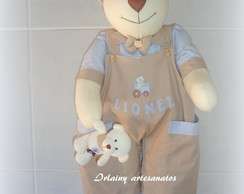 Urso Porta- Fraldas Lionel
