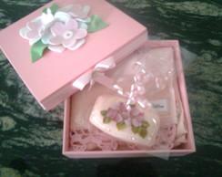 Kit ... Caixa rosa \ Beb� -Menina.