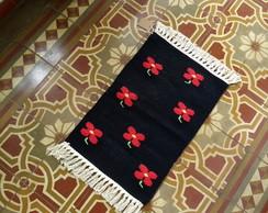 Tapete Floral - Black