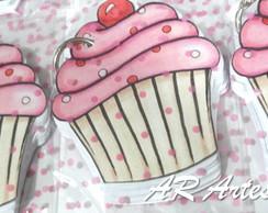 Chaveiro-bloquinho Cupcake