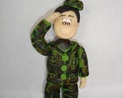 Boneco Personalizado Soldado Exercito