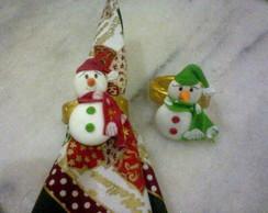 Boneco de Neve(porta- guardanapo)