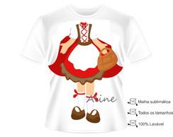 Camisa Fantasia Chap�uzinho Vermelho