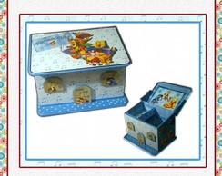 Casinha Ursinho Pooh Azul