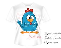 Camisa Fantasia Galinha Pintadinha