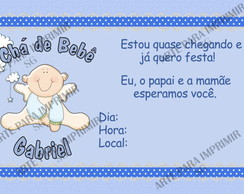 Convite Ch� de Beb� 16