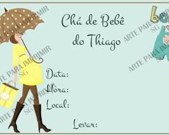 Convite Ch� de Beb� 7