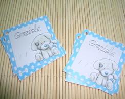Tags Lembrancinhas Maternidade Cachorro