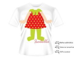 Camisa Fantasia Moranguinho
